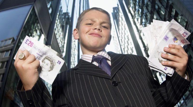 Самые богатые дети