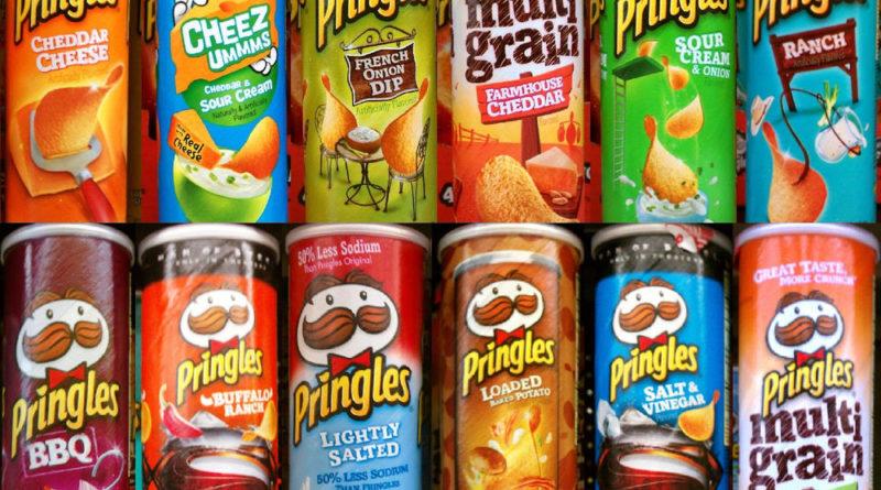 Необычные вкусы Принглс