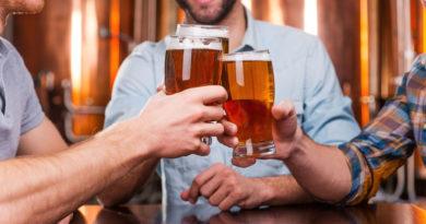 Безалкогольное пиво и алкотестер